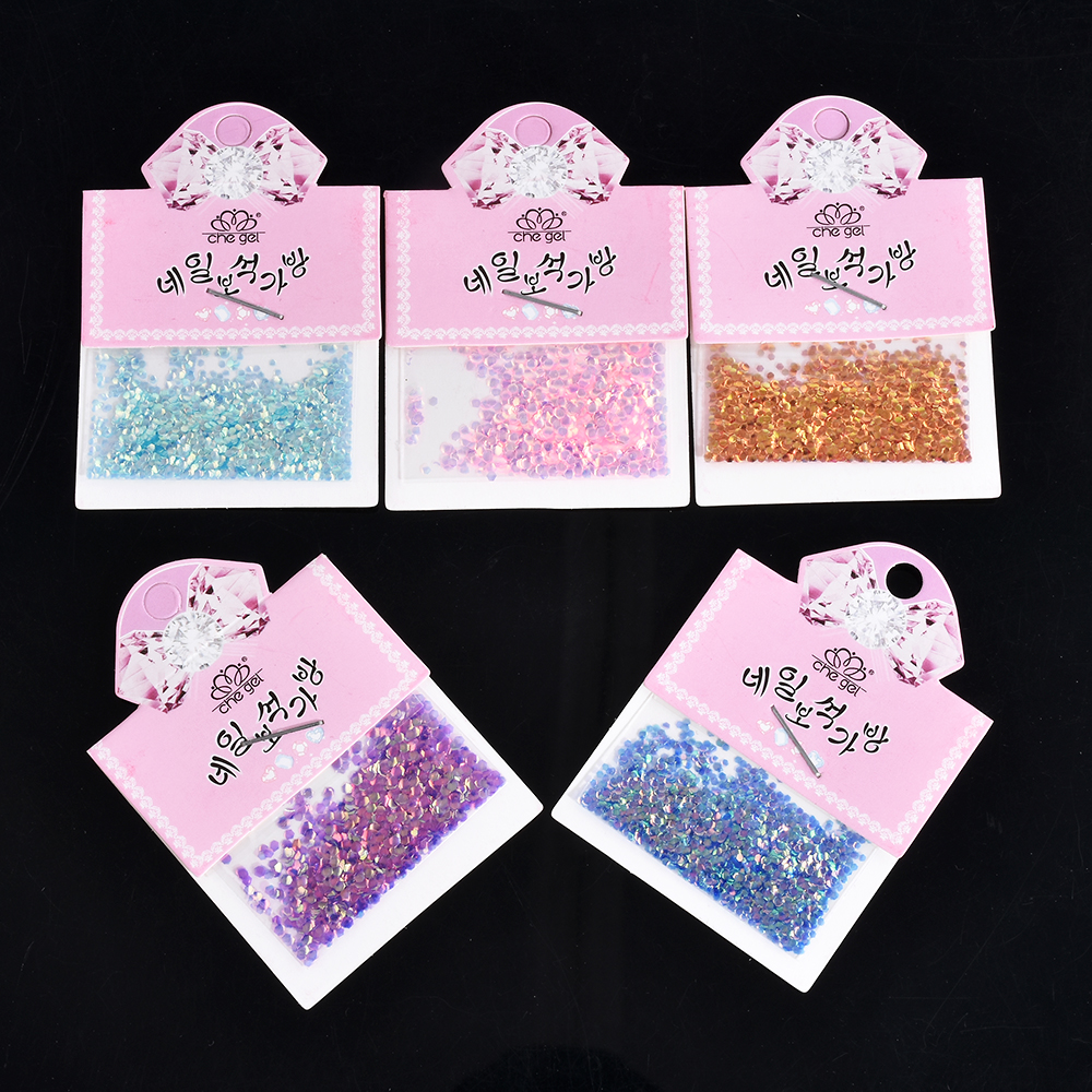 5 colors Fish Scale nail art Sequins Mermaid Hexagon Glitter Rhinestones for nails For DIY Manicure Nail Art Tips Decorations 10g box clear nail caviar micro beads 3d glitter mini beans tiny tips decorations diy nail art rhinestones manicure accessories