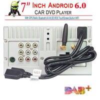 7inch Android 6.0 2 Din Car DVD Mutimedia Player Radio Stereo WiFi 3G GPS Nav