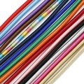 10pcs/lot 45CM Random mix color Metallic/Silk Jewelry Cord with Hollow Rubber for Jewelry making & Christmas Party Craft Decor