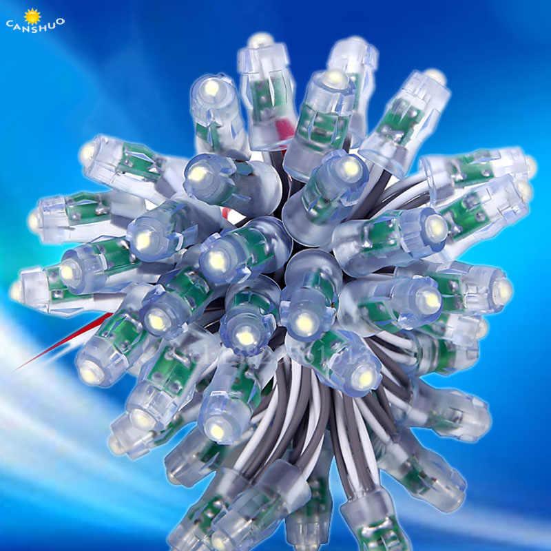 Светодиодный рекламный буквенный цепи подвесной светильник светодиодный пиксельный модульный свет один Цвет Диаметр 9 мм светодиодный для погружения Водонепроницаемый DC5V 500 шт./лот светодиодный модуль