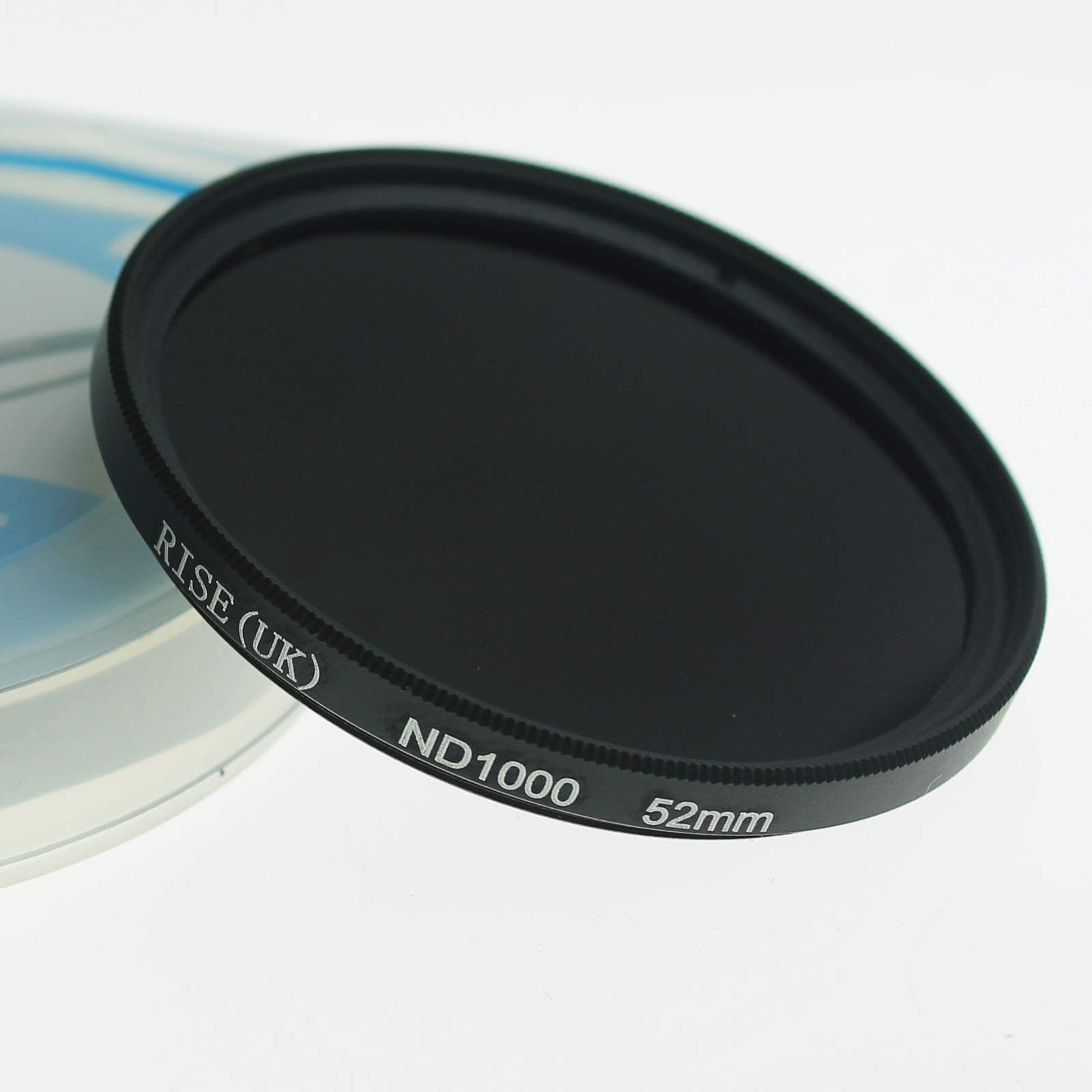 RISE 52mm slim Neutral density optical grade ND ND1000 filter for digital camera lens DVRISE 52mm slim Neutral density optical grade ND ND1000 filter for digital camera lens DV