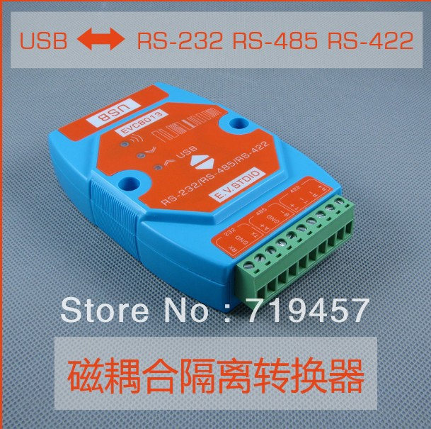 FREE SHIPPING Usb Rs232 Usb 485 422 Isolation Usb Converter Super Magnetic