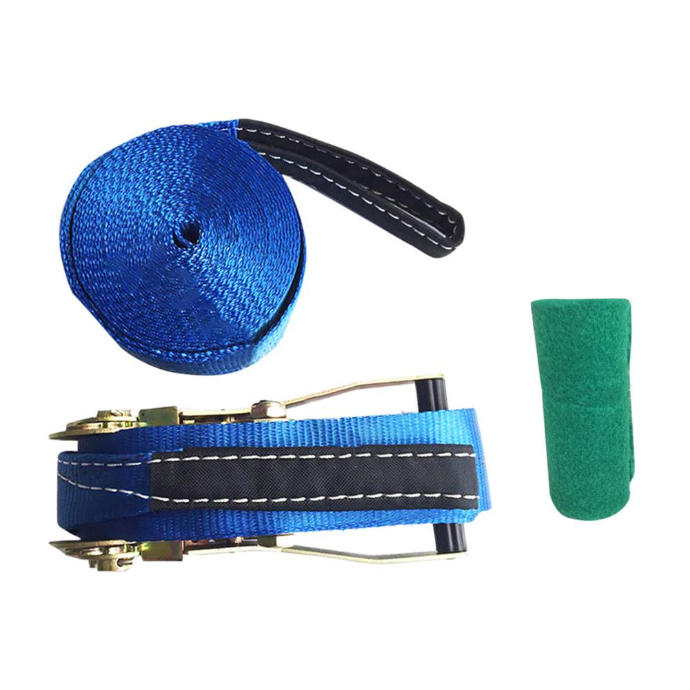 10*0.5 m Sports extrêmes en plein air Slackline nouveau Style épaississement corde souple Fitness Balance corde - 2