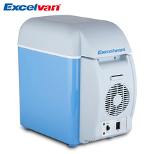 Excelvan 7.5L Portable 12V Mini  Auto Fridge Multi-Function Car Refrigerator Quality ABS Home Cooler Freezer Warmer