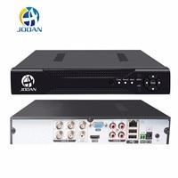 JOOAN 4CH CCTV DVR Security System 1080N H.264 HDMI P2P Hybrid 5 in 1 Onvif IP Camera TVI CVI AHD Video Recorder