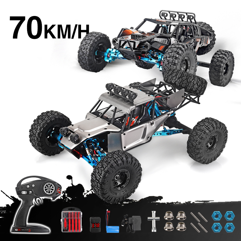 RC Car feiyue fy-03 07 RTR  2.4g 4WD 4 channel 4x4 70km/h RC car desert truck brushless metal upgrade PK WLtoys 12428 12423RC Car feiyue fy-03 07 RTR  2.4g 4WD 4 channel 4x4 70km/h RC car desert truck brushless metal upgrade PK WLtoys 12428 12423
