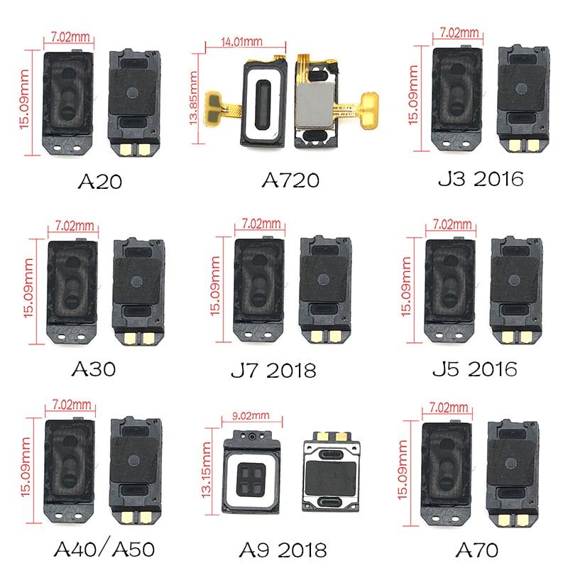 1Pcs For Samsung A9 A8 A6 A7 J7 J6 J8 J4 2018 /J3 J5 2016 / A20 A30 A40 A50 A70 Earpiece Ear Speaker Sound Receiver Flex Cable