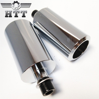 Aftermarket free shipping motorcycle parts No Cut Frame Slider Protector For Honda 2004 2005 CBR 1000RR 1000 RR Chrome