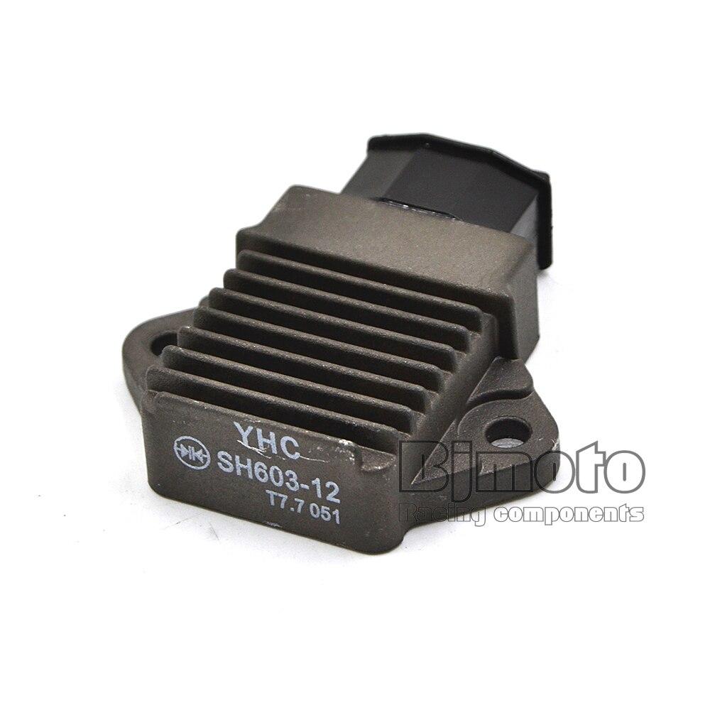 YHC SH603 Motocicleta Voltage Regulator Retificador Para Honda CBR600 CBR900 CBR1100 CB600F SOMBRA NV750C V W VT HORNET 125 250 750