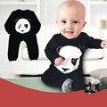 Bonito panda roupas de bebê roupa do bebé novo traje do bebê estilo