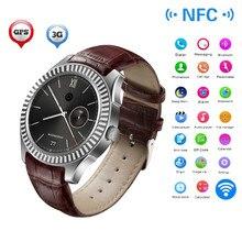 NO. 1 D7 Smartwatches Reloj Inteligente de 1.3 pulgadas Android 4.4 SIM GPS WIFI 3G Bluetooth Reloj Inteligente 1G 8G Monitor de Pulso Dual Core