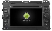 Android 5.1.1 DE VOITURE Audio lecteur DVD POUR TOYOTA PRADO 120 (2002-2009) gps Multimédia tête dispositif unité récepteur BT WIFI