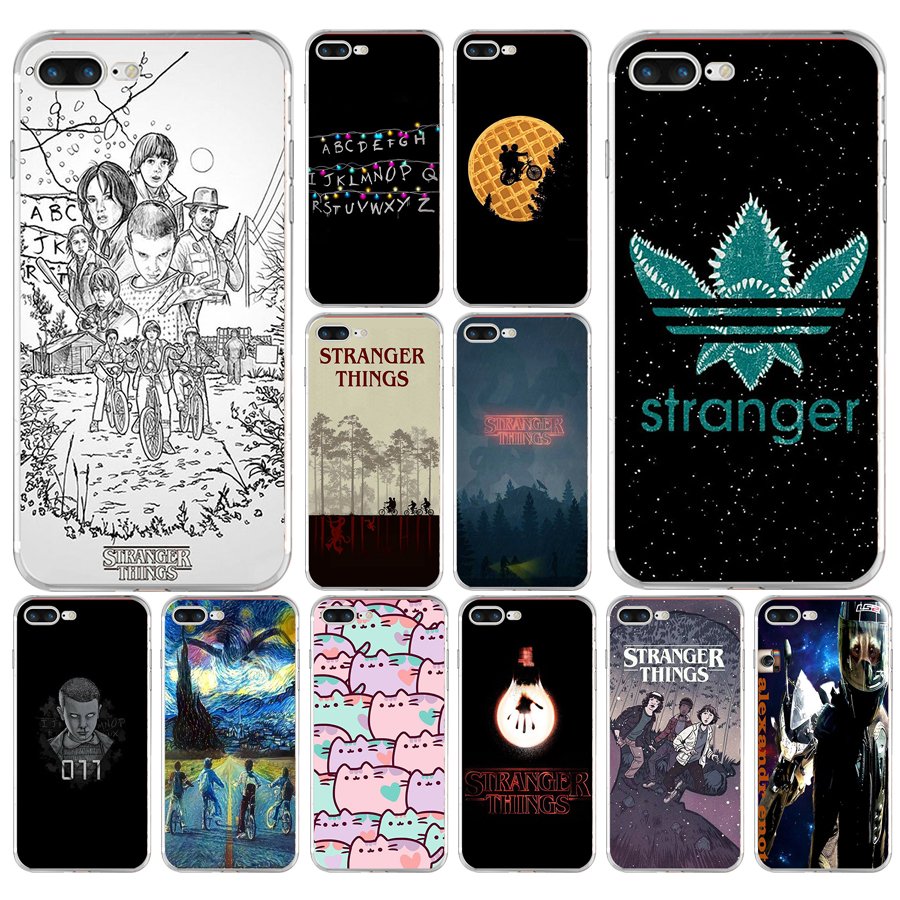 cover iphone 6 silicone stranger things