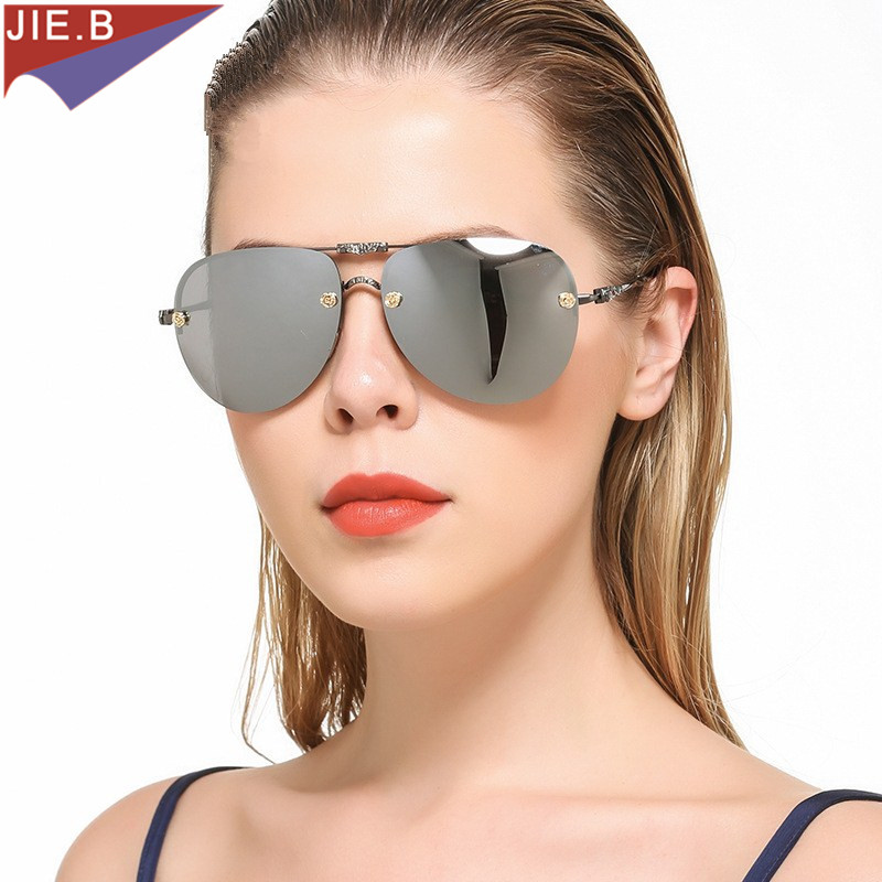 Active Fashion Classic Oversized Pilot Sunglasses Women 2017 New Brand Design Sun Glasses For Men Glasses Aesthetic Appearance
