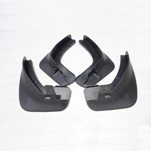 Free Shipping High Quality ABS Plastics Automobile Fender Mudguards Mud Flaps For 2008-2016 Renault fluence