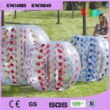 Free Shipping!!!1.0mm PVC 1.5m Inflatable Human Hamster Ball/Loopy Ball/Bubble Football/Bumper Ball/Boby Zorb Ball