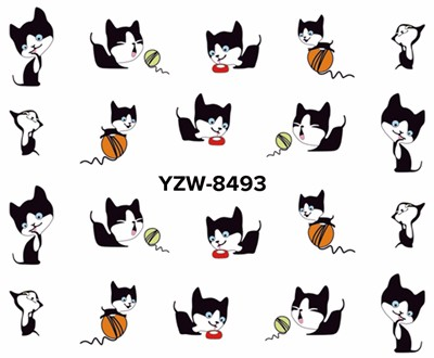 Lovely Cute Cat Nail Stickers
