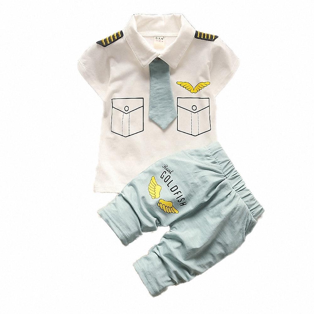 BibiCola Baby Boy Clothes Summer Kids Clothes Sets T shirt