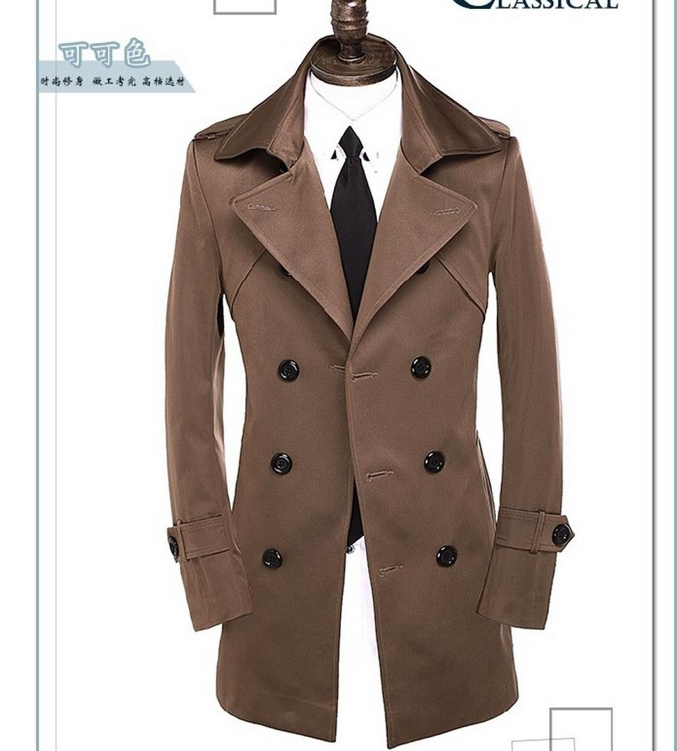 Compare Prices on Mens Brown Trench Coat- Online Shopping/Buy Low