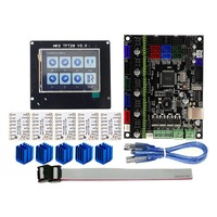 For MKS GEN L Compatible with TFT28 LCD Display Support TMC2208 Motor Driver 3D Print Kits @JH