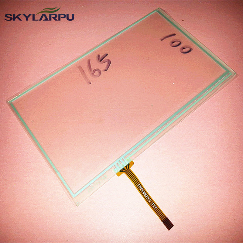 skylarpu 2 pieces New 7 inch touchscreen for 165mm*100mm touch panel digitizer glass Free shipping