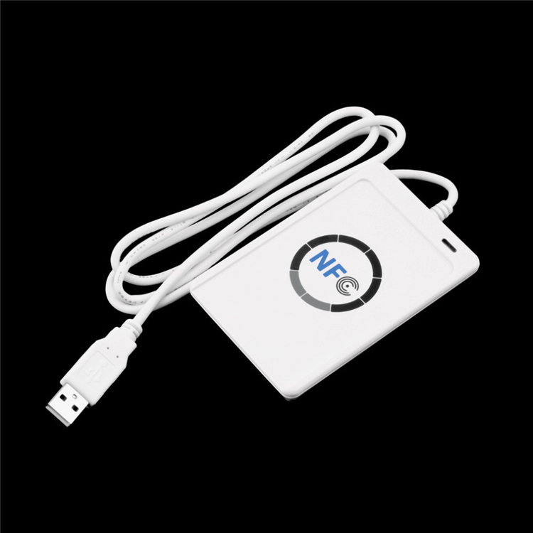 ACR122U-A9 USB NFC Smart Card Reader Writer For All 4 types NFC (ISO/IEC18092) Tags+5pcs UID Card+SDK+M1 Clone Software 13 56mhz nfc iso 14443a 15693 rfid writer usb yhy638fu sdk software ereader v8 3 6tags