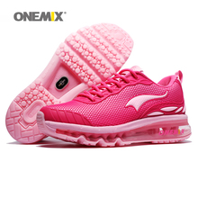Max Woman Running Shoes For Women Nice Run Athletic Trainers Pink Zapatillas Sports Shoe Cushion Outdoor Walking Sneakers