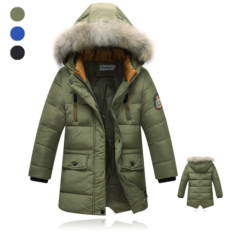 2016 Warm Boy s Winter down Jackets Newest baby boy s Coats thick duck Down brand