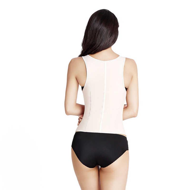 Жилет для фитнеса плюс размер утягивающий корсет для женщин плечевой ремень для похудения талии тренажер корсаж для тренировки талии стальной корсет с косточками