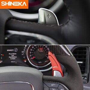 Image 4 - Shinekaインテリアモールディングダッジチャレンジャー 2015 + 車のステアリングホイールのシフトパドル用ダッジチャージャー 2015 +