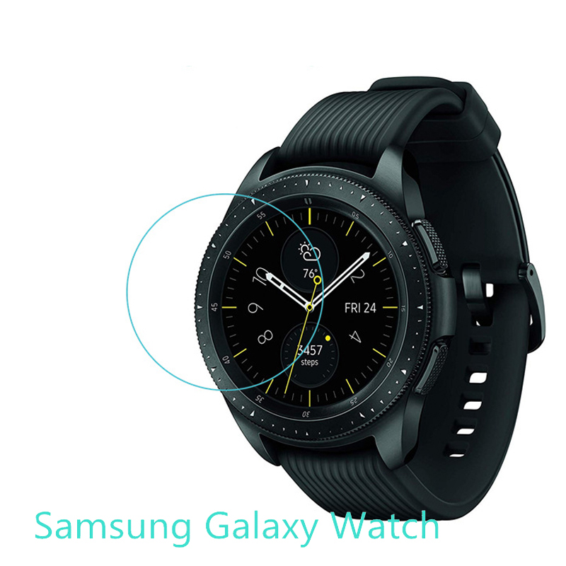 Screen Protector Film For Samsung Galaxy Watch 42mm 46mm Replacement Anti-Shock Tempered Glass Protective Smartwacth Accessories