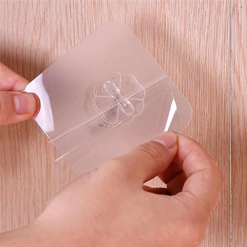 ISHOWTIENDA 強力な透明吸盤吸盤ウォールフックハンガー用 6*6 センチメートル 2019 ホット販売壁フック 30 個
