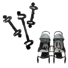 3 шт. безопасный соединитель коляски коляска для близнецов Linker Универсальный простой в использовании муфта втулка портативный шарнир регулируемые аксессуары для колясок