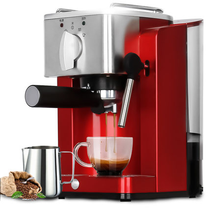 Espresso Coffee Maker 15 bar Mini Steam Coffee Machine Pump-Type High-Pressure Italian Coffee Machine Cafetera TSK-1827RAEspresso Coffee Maker 15 bar Mini Steam Coffee Machine Pump-Type High-Pressure Italian Coffee Machine Cafetera TSK-1827RA