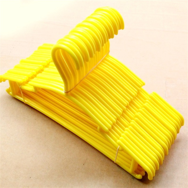 10pcs/Lot Baby Clothes Hangers Plastic Outdoor Drying Rack for Kids Children clothing co ...