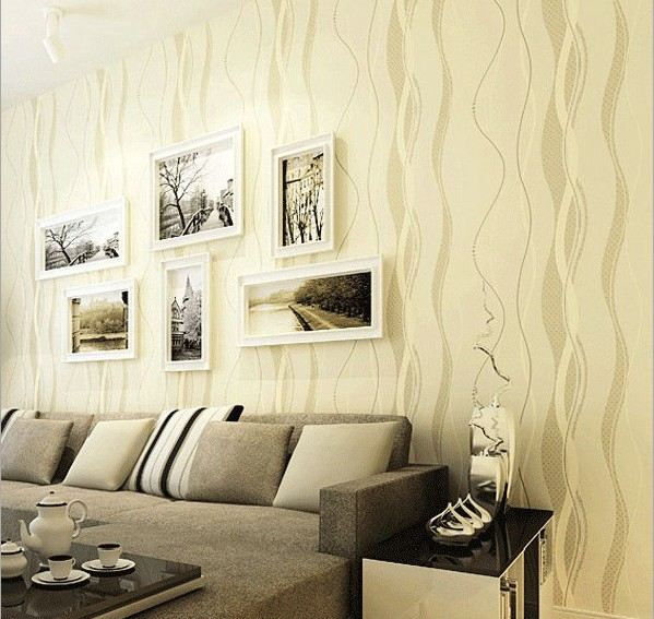Contracted and contemporary non-woven wallpaper curve stripes TV setting wall stickers to the sitting room the bedroom wallpaper contemporary and contracted non woven wallpaper vertical stripes boy born children room bedroom wall stickers blue mediterranean