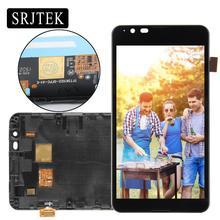 Продажа 4,7 »Дисплей Сенсорный экран для SONY Xperia E4G E2003 E2033 планшета с рамкой сборки для SONY Xperia E4G