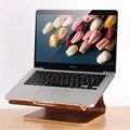Multifuncional de madeira suporte para laptop notebook suporte de madeira suporte para apple macbook laptop acessórios frete grátis