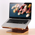 Multifunction Wooden Stand for laptop notebook Holder wood stand for apple macbook laptop accessories free shipping
