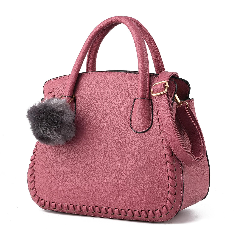 Women Handbags Luxury Shoulder Bag Female PU Leather Handbag Women Black Bucket