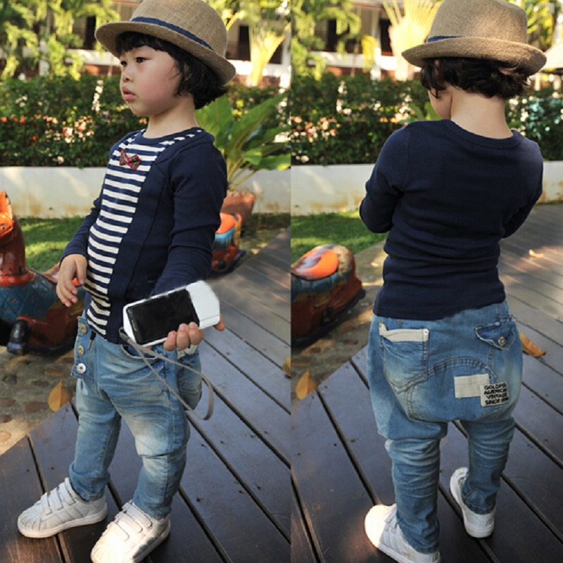 NZ209-Free-Shipping-1pcs-Hot-Sale-kids-boy-clothes-baby-Boy-Harem-Pants-Jeans-for-boy-children-boy-clothing-Trousers-Retail-2