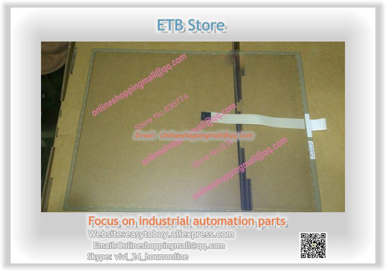 Original 15 inch 4:3 Industrial Touch Screen 322 x245 5 Wire Edge Touch Screen Wide Temperature Touch Screen new
