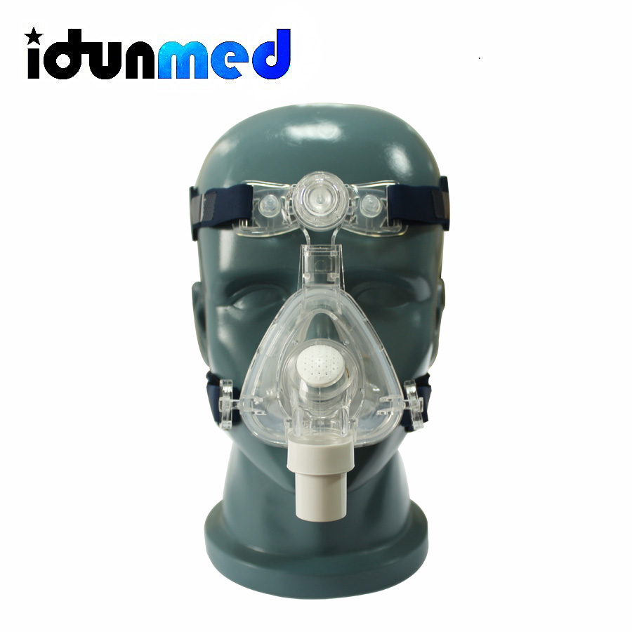 Adjustable Head Gear : Idunmed cpap mask nm nasal with adjustable straps