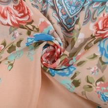 Women floral tassel chiffon Kimono outwear loose vintage cape coat  Femininas European casual cardigan brand tops CT942