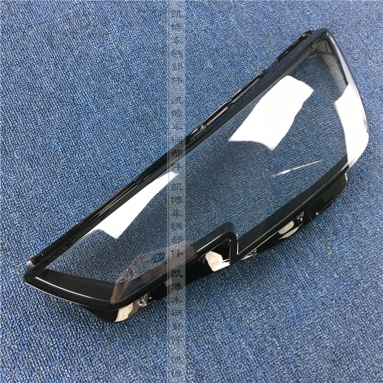 For Audi A4L Headlight cover 16 19 A4L A4 headlights transparent lampshade headlight shell head lampshade 2pcs