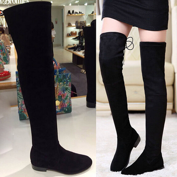 Thigh High Fitted Boots