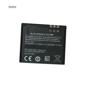 Ronlibw 1010mAh батарея BL-5A Замена для 502 Asha 502