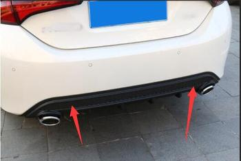 14-18 for Toyota corolla double engine rear lip small surround rear bumper decorative accessories
