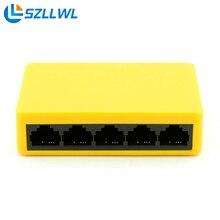 Quick Pace full-duplex half-duplex 5 Ports 10/100/1000Mbps Gigabit Ethernet Community Switches