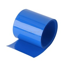 Batterie au Lithium thermorétractable Tube Li-ion enveloppe peau 14500 18650 26650 PVC rétractable Tube Film bande manchons isolant électrique(China)